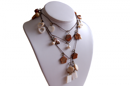 Natural Beauty Shell Lariat